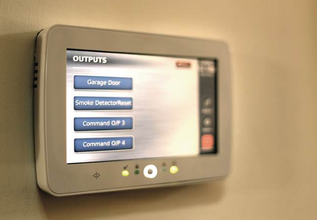 Security CCTV Touchscreen home automation modules
