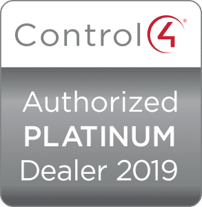 Control4 Authorized Platinum Dealer 2019