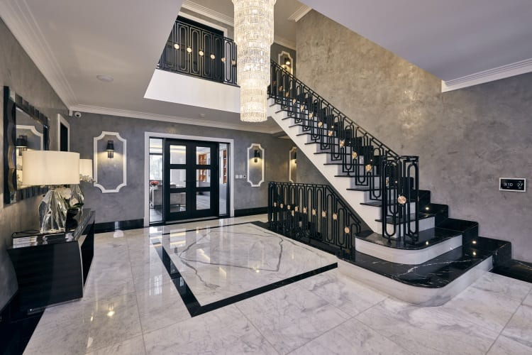 Smart home entrance